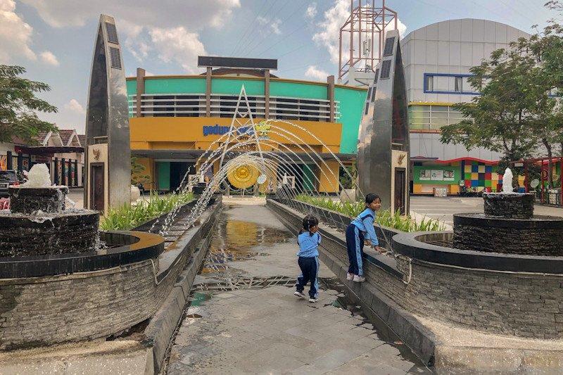 Taman Pintar Yogyakarta tersertifikasi sebagai ruang bermain ramah anak
