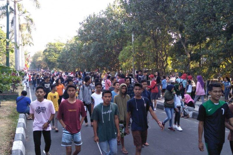 """Kelompok sadar wisata menggagas """"CFD"""" di Cakranegara Mataram"""