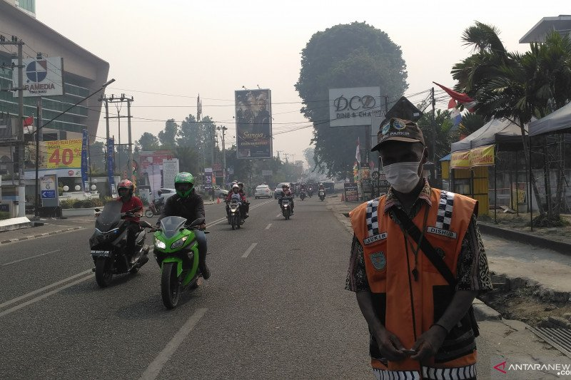 Kabut asap kembali ancam Jambi