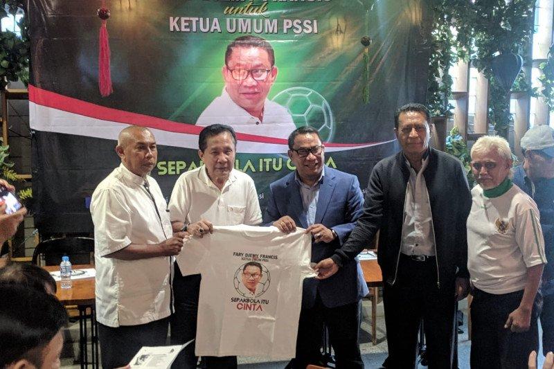 PSN Ngada dukung Fary Francis jadi Ketua PSSI