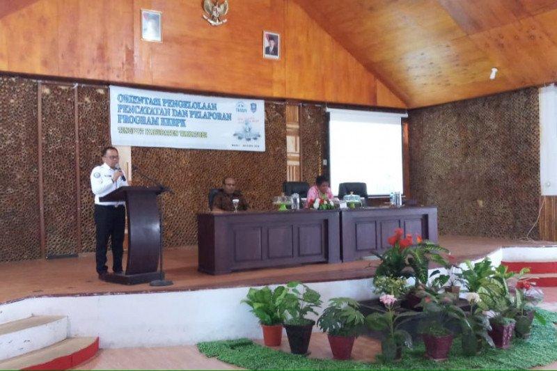 BKKBN gelar orientasi pencatatan dan pelaporan KKBPK di Wakatobi