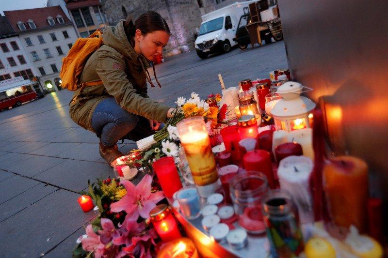 Delapan orang tewas dalam penembakan di dekat Kota Frankfurt Rabu