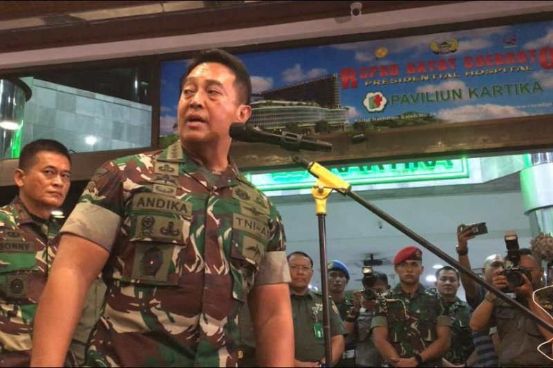 Dandim Kendari dicopot gara-gara istri nyinyir terkait penusukan terhadap Wiranto