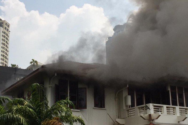 Kebakaran terjadi di Wisma Indonesia Bangkok