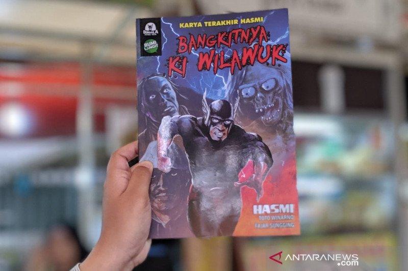 """Komik terakhir  Hasmi """"Bangkitnya Ki Wilawuk"""" terbit di Comic Con"""