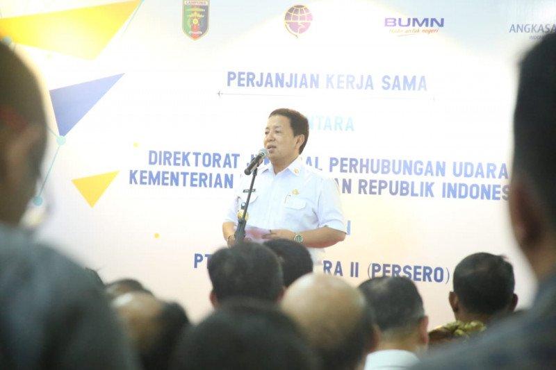 Gubernur  dorong pembangunan stasiun kereta api bandara Radin Inten