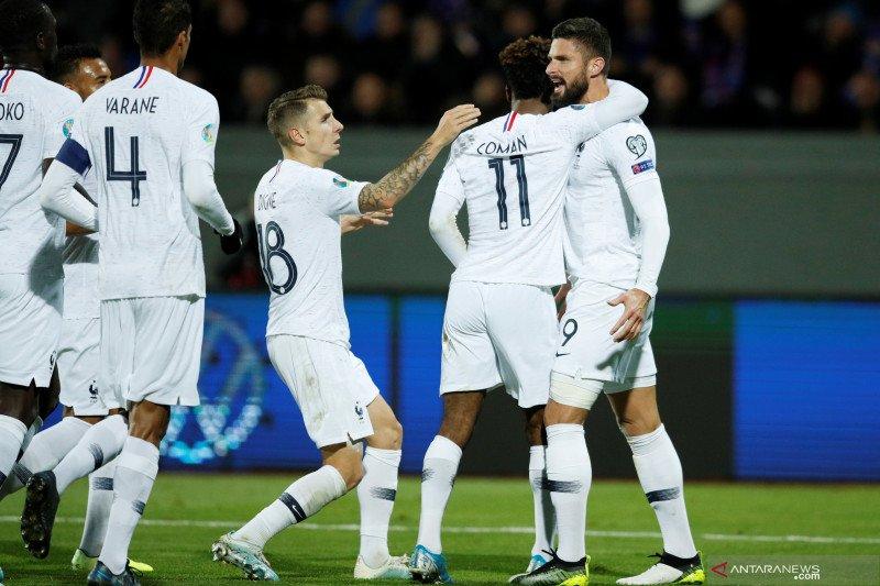 Gol penalti Giroud bawa Prancis kalahkan Islandia