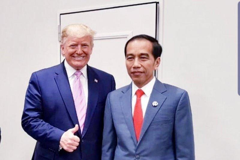 Trump tidak hadiri  pelantikan  Presiden Jokowi