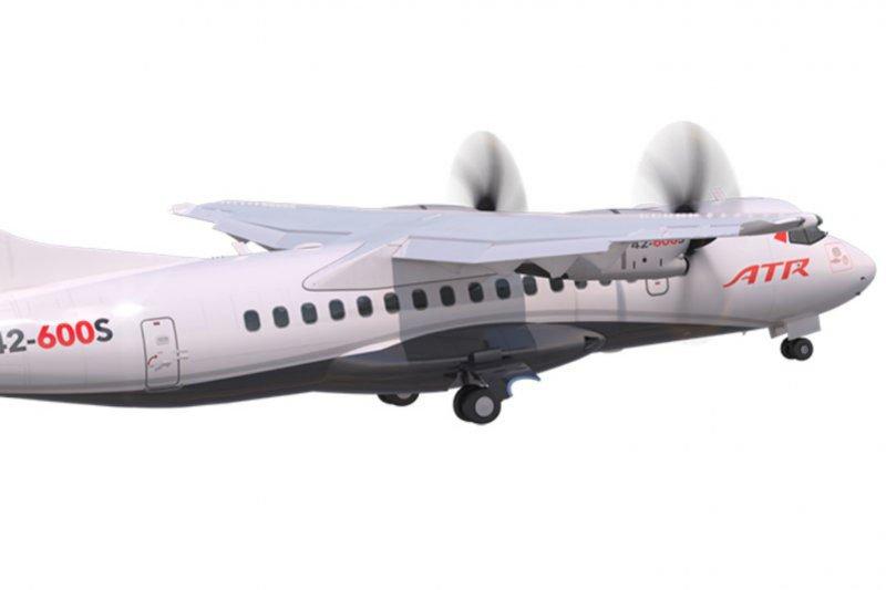 Pesawat baru ATR mampu mendarat di landasan 800 meter
