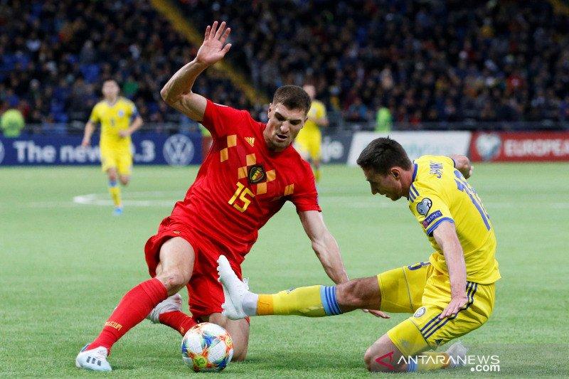 Piala Eropa 2020 - Belgia bidik sapu bersih kemenangan di Grup I