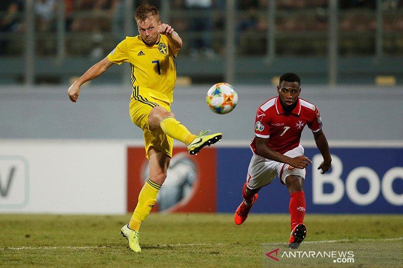 Swedia libas Malta 4-0, Rumania cukur Faroe 3-0