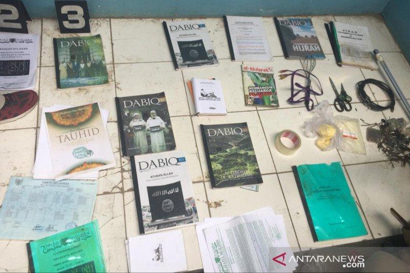 Seorang terduga teroris di Bekasi diamankan Densus 88