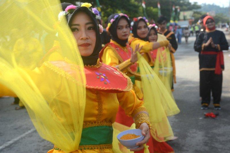 """Lestarikan budaya Tanjung Selor melalui jurus """"Kuntaw"""" dan pantun """"Mamanda"""""""