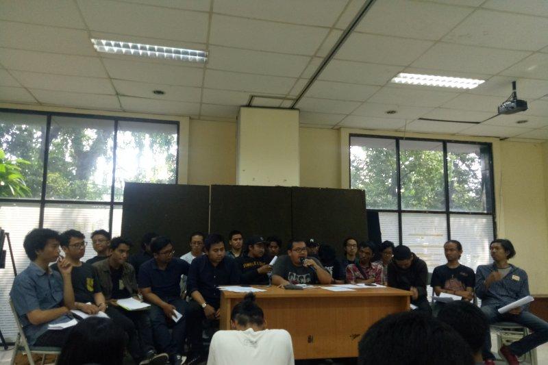 "Aliansi mahasiswa ""Border Rakyat"" minta polisi buka data pedemo ditangkap"