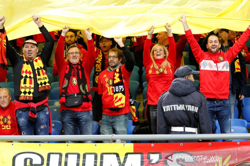 Belgia lolos didampingi Rusia, Skotlandia ke playoff