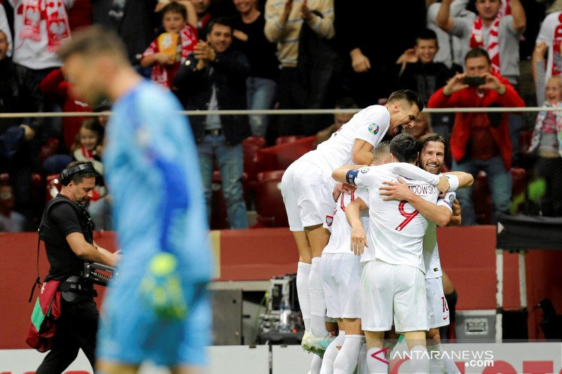 Piala Eropa 2020 - Hasil Grup G: Polandia lolos, empat tim lain berebut satu tiket lagi