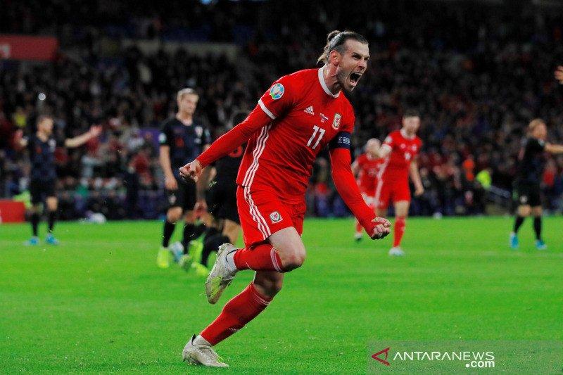 Gareth Bale selamatkan Wales dari kekalahan lawan Kroasia