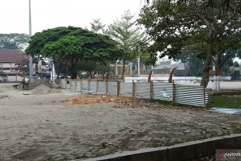 Tanah Datar segera miliki Taman Air Mancur di Lapangan Cindua Mato Batusangkar