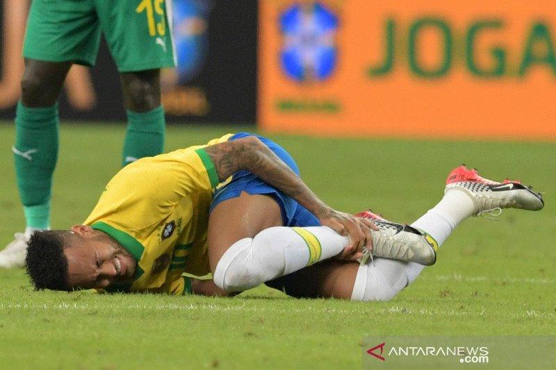 Neymar pimpin tim Brazil di kualifikasi Piala Dunia 2022