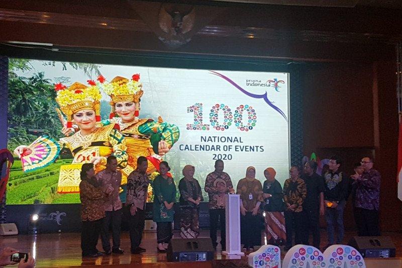 Calendar of Event pariwisata Indonesia 2020 tawarkan 100 atraksi wisata