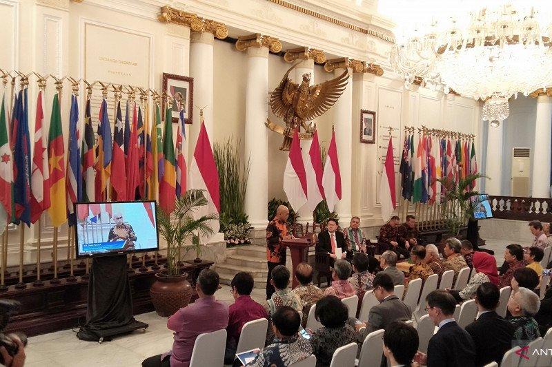 Menlu: Hukum internasional berperan dalam pembentukan Indonesia negara kepulauan