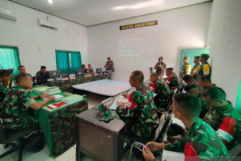 Latihan taktis komando ala Brigif 21/Komodo