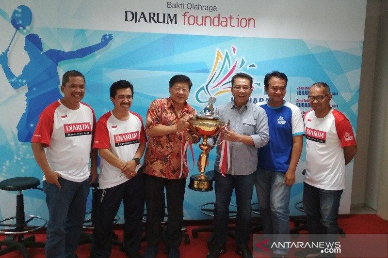 4 tim berebut juara bulu tangkis antarmedia