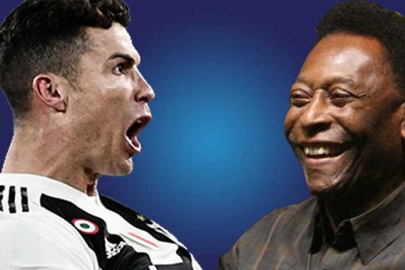 Ronaldo atau Pele pemain terhebat sepanjang masa?