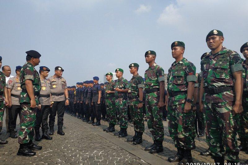 Panglima TNI sebut pengamanan pelantikan Presiden dimulai Kamis