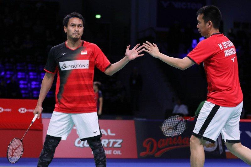Indonesia pastikan raih gelar ganda putra Denmark Open 2019