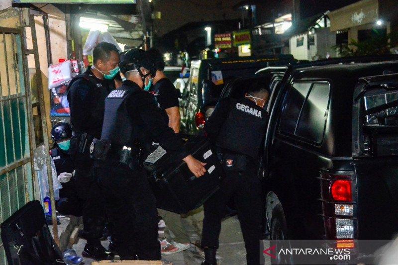 Detasemen Khusus 88 tangkap dua terduga teroris di Tanjung Morawa