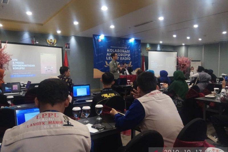 LPPL Radio Lansek Manih hadiri roadshow kanal KPK 2019