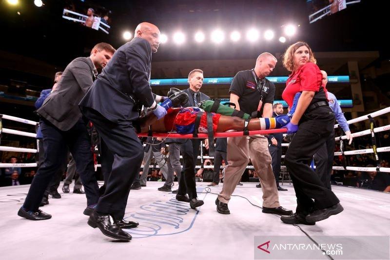 Cedera otak setelah dipukul KO, petinju Patrick Day tewas