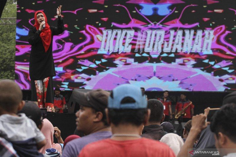 """Penyanyi Ikke Nurjanah didapuk popolerkan lagu """"Gizi Seimbang"""""""
