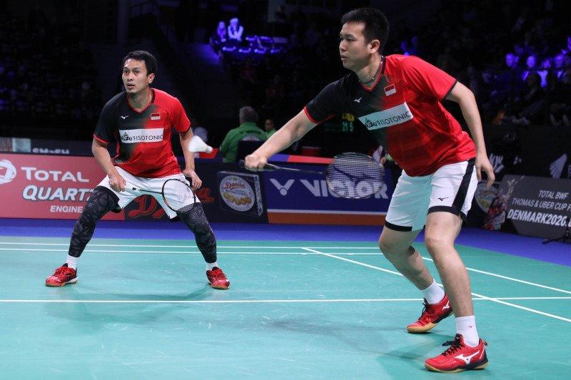 Denmark Open - Lima wakil Indonesia siap tempur pada perempat final