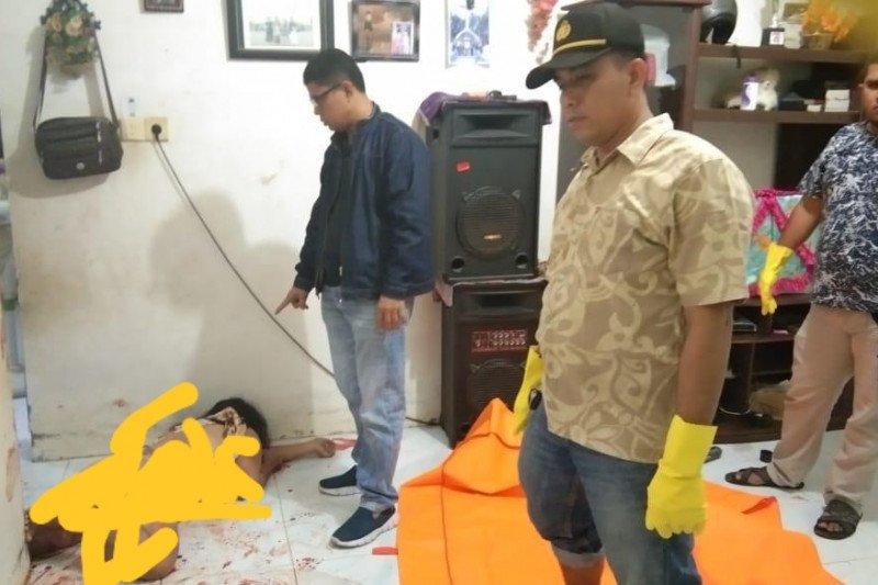 Pembunuhan di kompleks Agrowirata bermotif pencurian, empat tusukan di tubuh korban