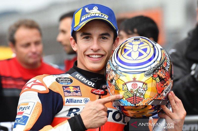 "Marquez raih ""pole position"" perdana GP Jepang"