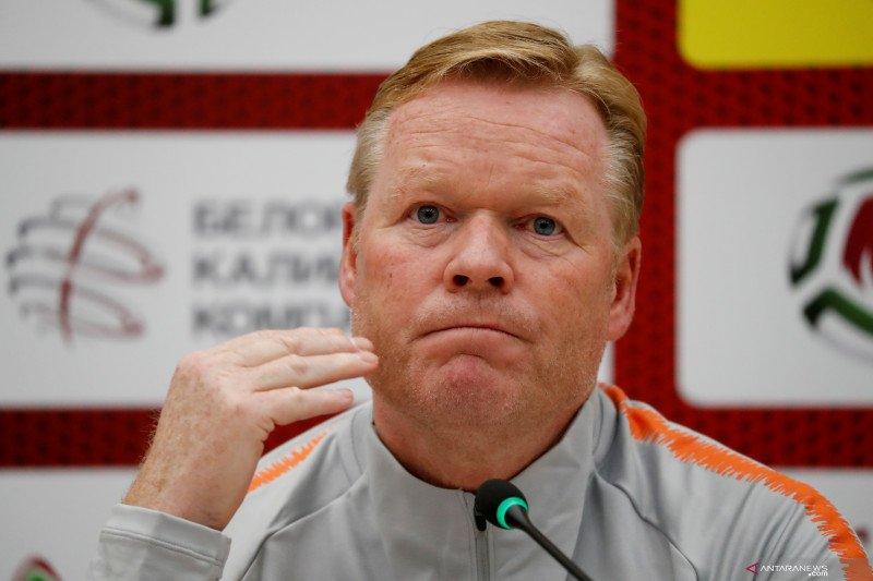 Koeman senang  Belanda segrup dengan Italia di Nations League