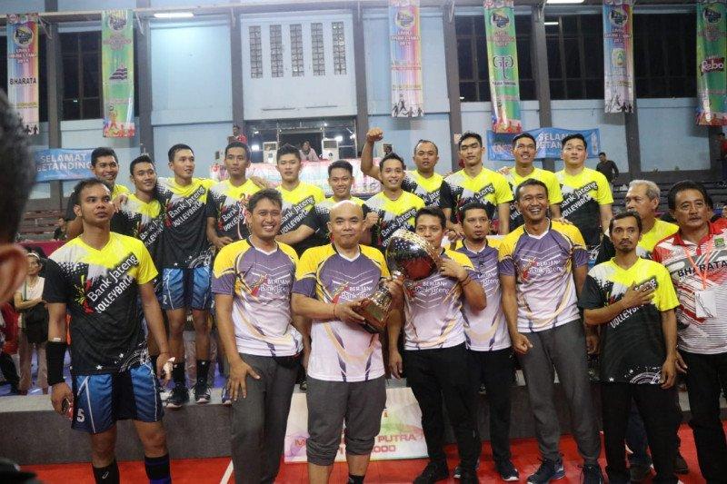 Berlian Bank  Jateng  juara Livoli Divisi Utama