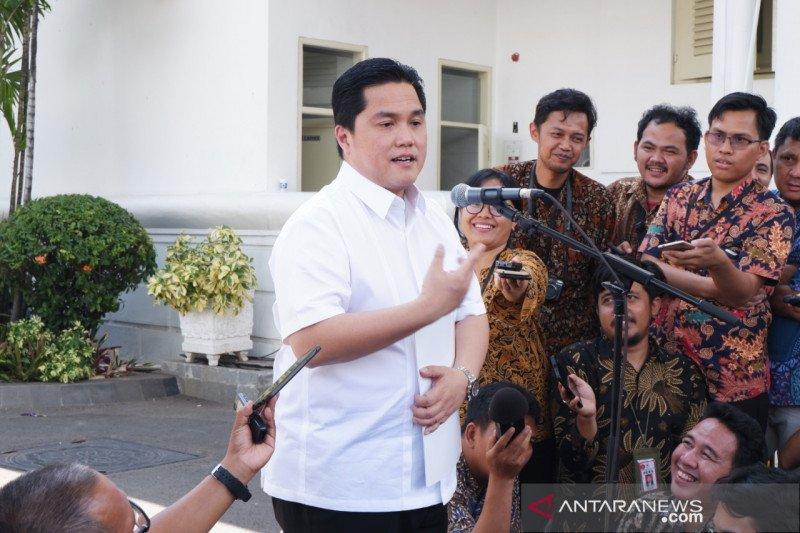 Erick Thohir siap jadi menteri