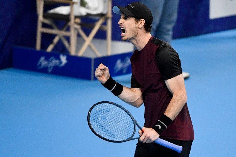 Murray raih juara ATP pertamanya sejak operasi pinggul