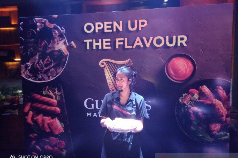 Menggandeng cheff Renatta Moeloek, guinnes gelar food pairing experience