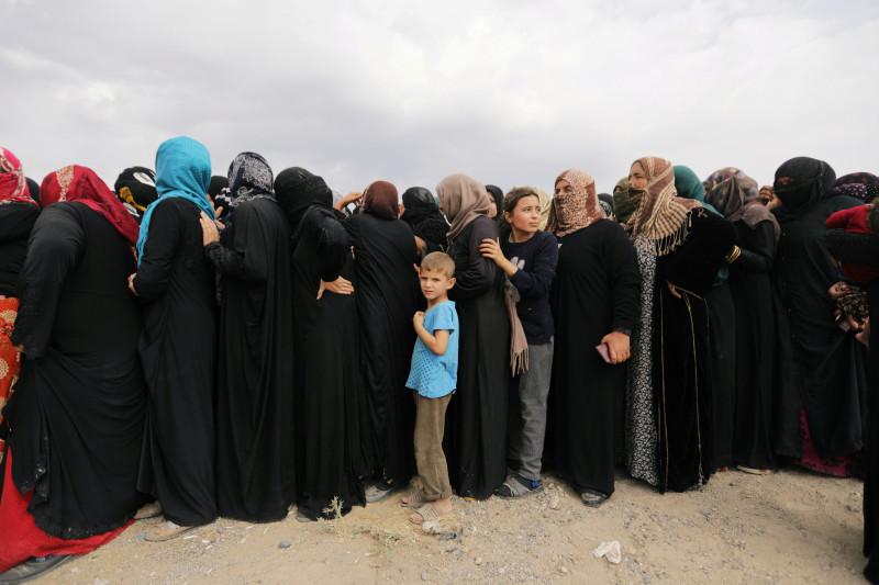 Turki lakukan serangan, keluarga Kurdi  mengungsi ke perbatasan Suriah-Irak