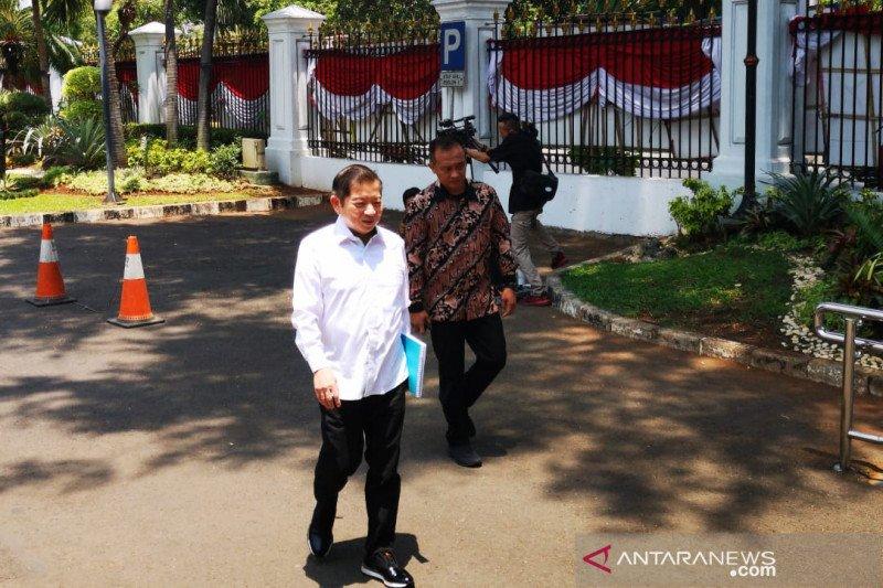 Presiden Jokowi panggil  Plt Ketua Umum PPP Soeharso Monoarfa