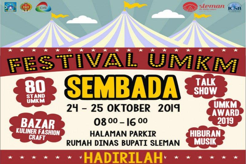 Sleman menyelenggarakan Festival UMKM Sembada