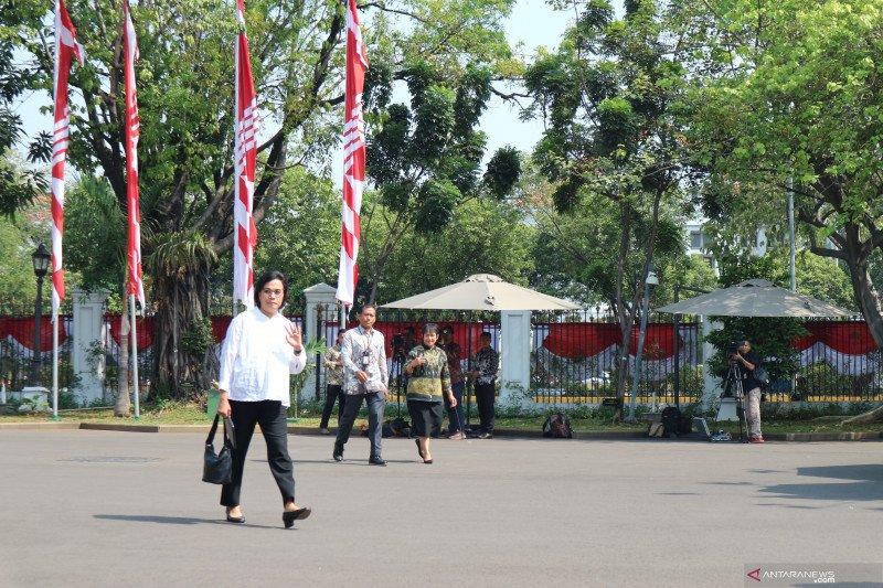 Sri Mulyani  orang Ke-12 yang dipanggil Presiden Jokowi