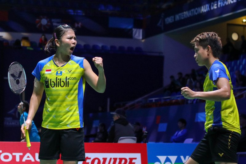 Greysia/Apriyani antisipasi Liu/Xia di babak dua French Open