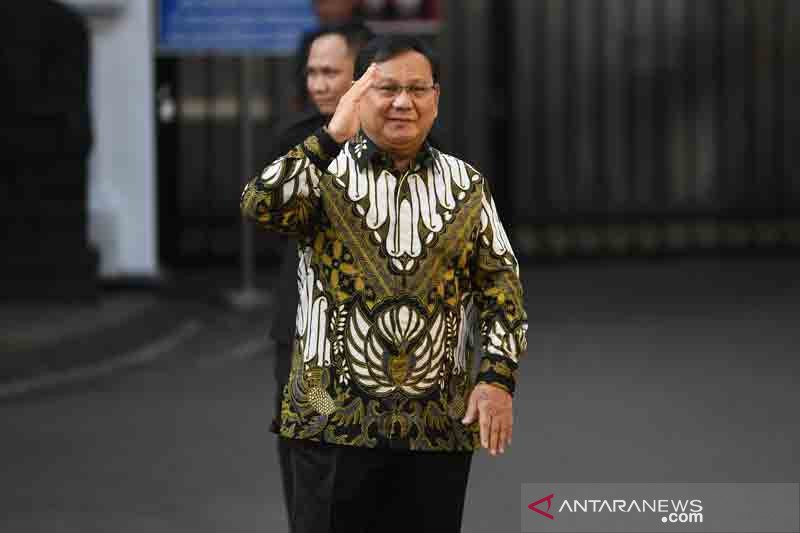 Prabowo appointed defense minister in Jokowi's new cabinet
