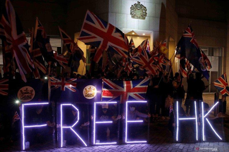 Inggris berencana tawarkan status kewarganegaraan bagi  Hong Kong