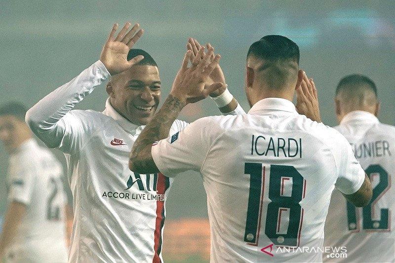 PSG cukur Brugge 5-0